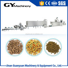 full automatic dry pet dog/cat food production line