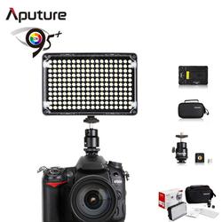 Aputure Amaran CRI95+ 5500K LED Video Light Dimmable Flat Panel On-camera Light Pad for Canon Nikon Pentax Olympus Sam