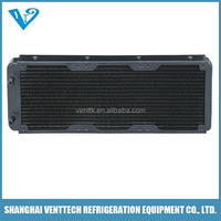 water cooling small cpu radiator for machine core cooling