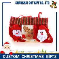 New Design Fuzzy Christmas Decorative Socks