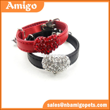 at a sale heart shape rhinestone name brand cat collar with bell