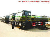 Beiben 6x6 2529 Truck Customizing stainless Aluminum fuel oil, diesel ,Jet Al,water tanker truck factory sale :86-15271357675