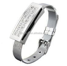 fashion bracelet Jewelry usb flash drive, cheapest gifts Jewelry wristband usb memory stick 8gb, 16gb promotion Jewelry usb