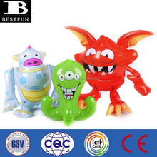 promotional custom made pvc inflatable monster vinyl small blow up anime figure toys