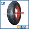 Factory low price top quality professional 16''x4.00-8 heavy duty cheap wheelbarrow wheel