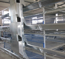 Boya high quality big capacity modern broiler chicken cage