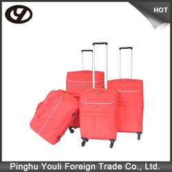 Cheap and high quality trolley case pc abs wheeled luggage