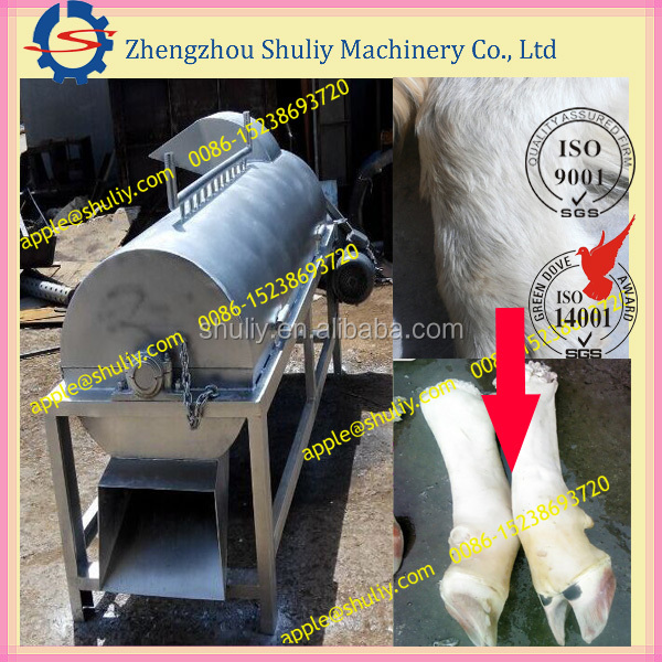 hair removing machine for
