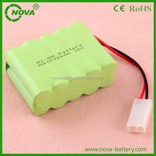 12v rechargeable nimh battery pack aa 800mah 12V