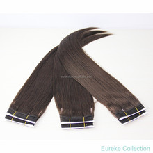 Hot selling Eureke hair fast delivery 6A grade Brazilian virgin human straight hair silky straight hair weave