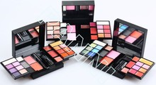 Colorful branded customized girls makeup kit powder cosmetic