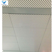 walking street aluminum perforated ceiling tiles ,building materials