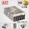 5v 15w NES Series CCTV Camera/LED Strips/Elevator power supply unit with CE approved
