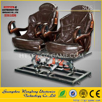 Newest Mobile 6DOF Hydraulic Platform 5D Cinema 5D Theater 5D Movie 5D Chair 5D Seat