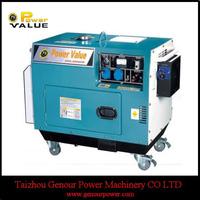 Genour Power 5kva Silent Diesel Gensets For Sale