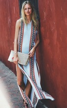 C88012A Wholesale Women Summer Beach Long Dresses European Fashion Dresses
