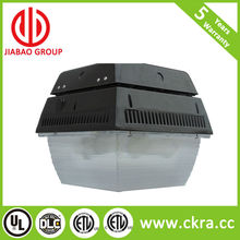 5 years warranty, High performance new type IP65 led canopy retrofit with DLC and ETL listed