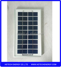 Polycrystalline 5w mini solar panel for led light with best price