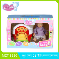 2015 new funny 4 inch lovely doll and story box with English IC including story,music,knowledge