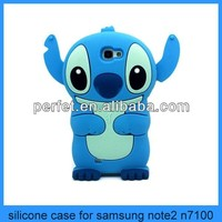 cute cases for samsung galaxy note 2 smart silicone back phone cover