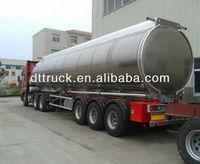3 axle aluminum alloy tank semi-trailer
