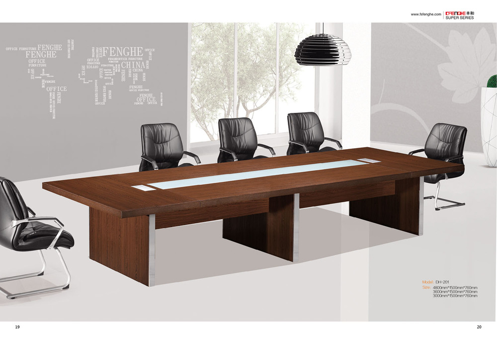 60mm Thick Melamine Wooden Conference Table - Buy