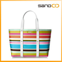 China supplier lady elegant PU leather designer handbag 2014 top seller woman handbag