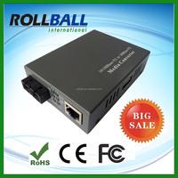 Factory supply Big selling SC port 10/100M dual fiber fiber optic converter