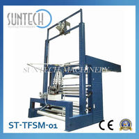 SUNTECH Fabric Slitting Machine with Detwister Expandable Slitting For Textile Industry