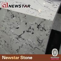 white quartz high top bar tables