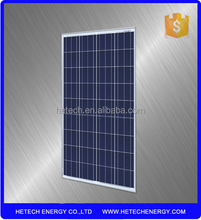 120watts fotovoltaic solar panel with tempered glass for solar electricity generation system