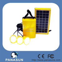 2015 hot selling products 3 lights solar home kits with mobile charger, solar lighting kit