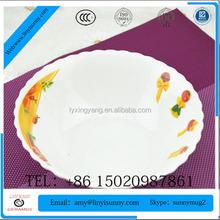 6.25 ceramic chicken bowl round shape