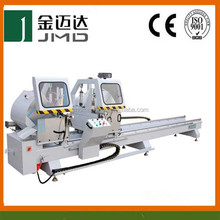 high quality aluminum window making machine digital display double mitre cutting saw on sale