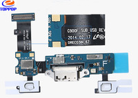 Original Cell Phone Parts Charging Port Connector Motherboard Flex Cable Charging for samsung galaxy s5 I9600
