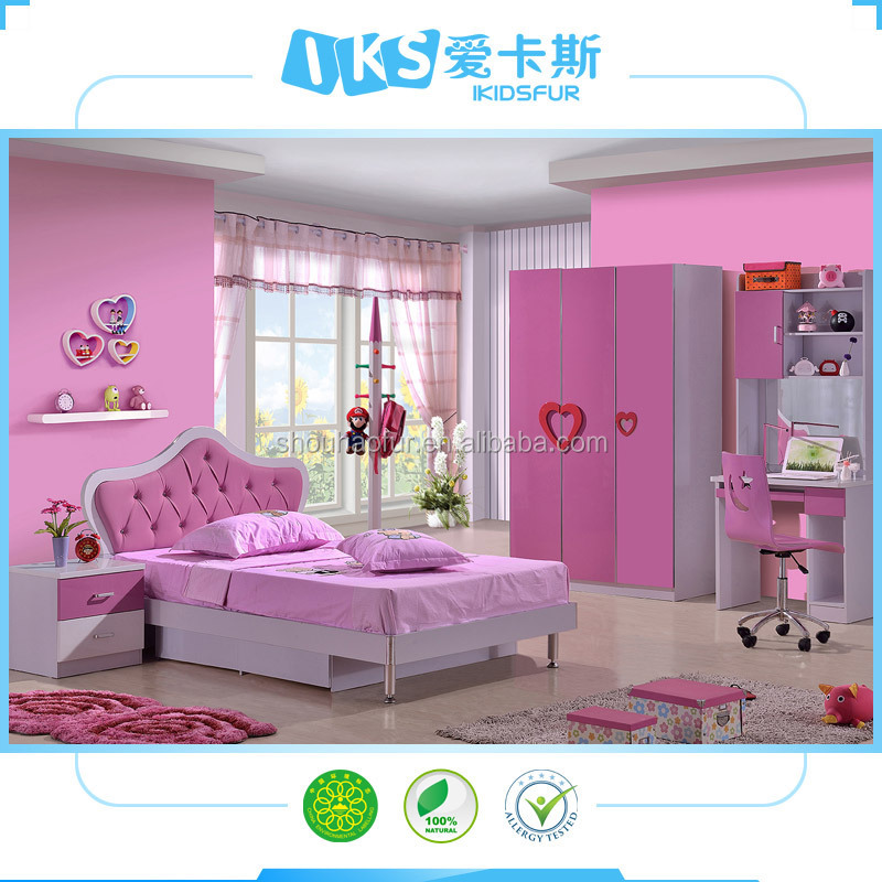 2015 high quality colorful light colored bedroom furniture 8101b