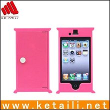 Door Shape Design Silicone Cellphone case,Mobile Phone Cover For Iphone 5/6