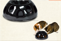 ceramic Smart Snacker for Cats and Dogs-black color