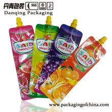 Danqing Printing Plastic Spout Pouch Bag Mini Pouch