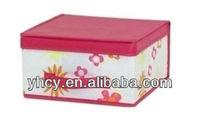 Cute Decorative Box/Tote Non-woven Storage Box