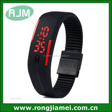 Wholesale promotion touch LED watchd with high quality for men