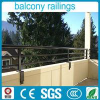 easy install wrought iron railing parts for balcony decor