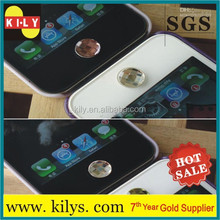 Bling bling crystal sticker for iphone 4 home button design