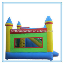 XD06N152 inflatable bouncy castle slide| inflatable moonwalk with slide