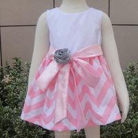 Cotton tutu princess pink dress for toddler frocks designs for kids