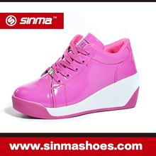 2015 Hot Sale Low Price Pink Casual Shoes For Girls