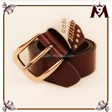 Hottest sale 100% real leather wholesale genuine leather belt