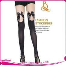 Wholesale 2015 Black Hot Sale Popular Japanese Stockings