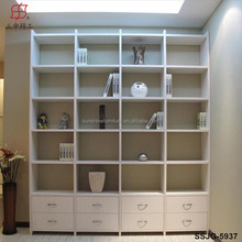 New Design Wooden Bookcase with Ladder / Bookcase / Bookshelf