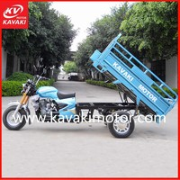 Popular Blue Color 150cc 175cc 200cc 250cc 3 Wheel Diesel Moto Engine Tricycle Cargo